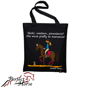 "Torba zakupowa Perfect Horse ""Cartoon Piaff"""