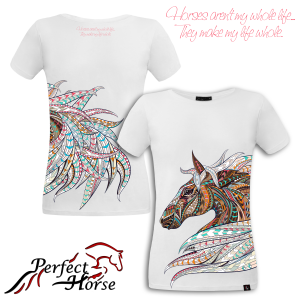 "T-shirt damski Perfect Horse ""Freedom"""